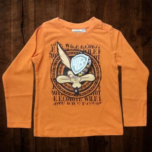 Kid's Long Sleeve T Shirt - Long Coyote - EOB