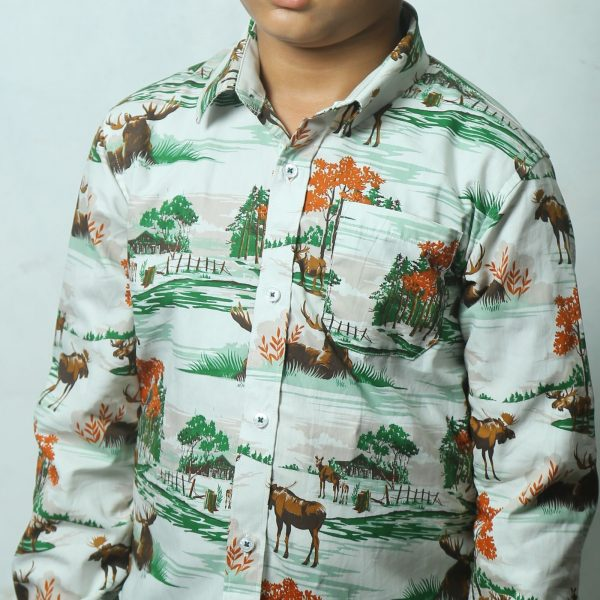 Kid's Full Sleeve Shirt - Multi-Color - BS161 - BUT