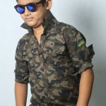 Kid's Full Sleeve Shirt - Army - BS149 - BUT