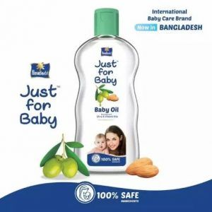 Just For Baby Combo -200ml - 3 units (Wash-Oil-Lotion)