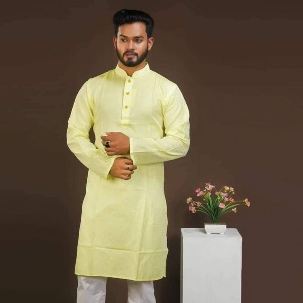 Cotton-Panjabi-Yellow