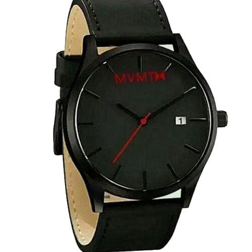 Men's PU Leather Analog Wrist Watch