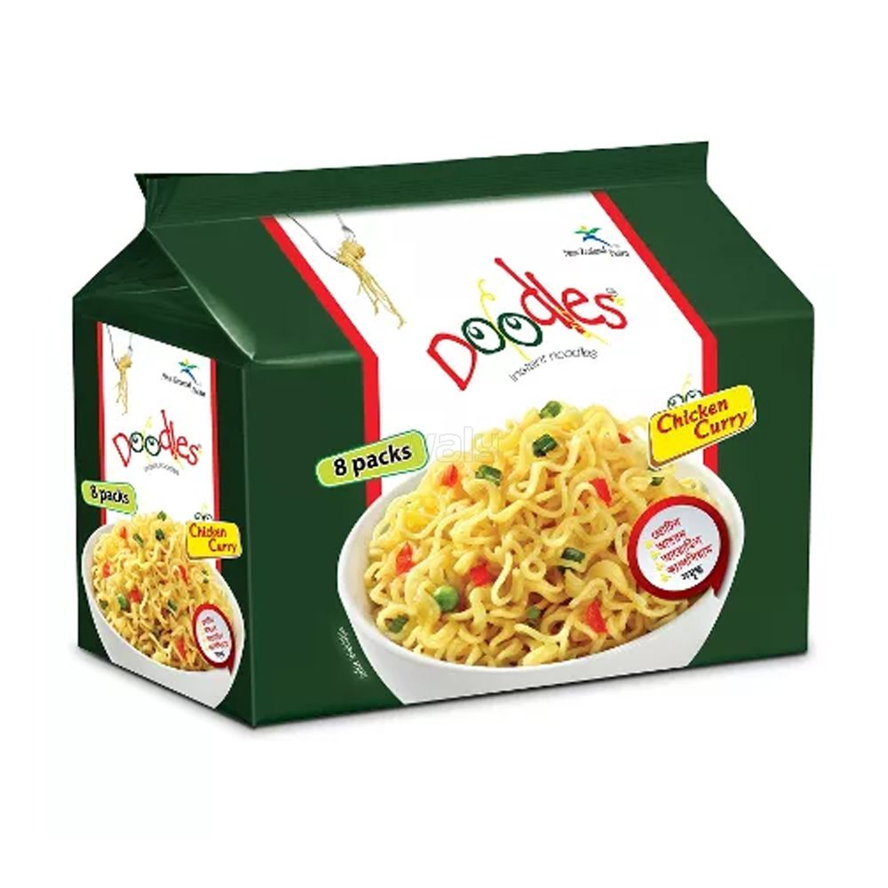 Doodles Instant Noodles Chicken Curry Flavor
